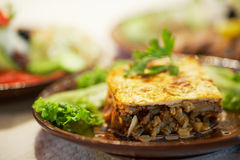 moussaka Obrazy Royalty Free