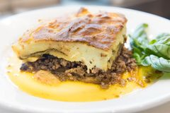 moussaka Obraz Royalty Free