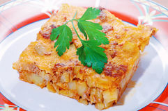 moussaka Royaltyfria Foton