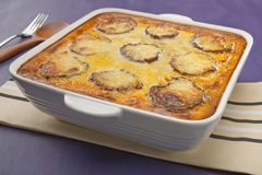 Moussaka Stockbild
