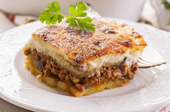 Moussaka Fotos de Stock Royalty Free