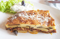moussaka Immagine Stock