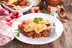 Moussaka with beef, Stock Images