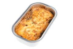 moussaka de repas prêt Photographie stock