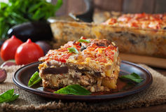 Moussaka Stock Photos