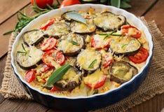 Moussaka  - a traditional Greek dish Stock Photo