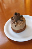 mousse σοκολάτας κέικ Στοκ εικόνες με δικαίωμα ελεύθερης χρήσης