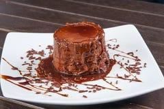 Mousse σοκολάτας επιδόρπιο Στοκ φωτογραφίες με δικαίωμα ελεύθερης χρήσης