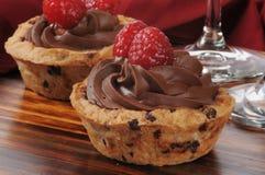Mousse σοκολάτας φλυτζάνι επιδορπίων Στοκ Εικόνα