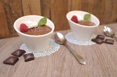 Mousse σοκολάτας στοκ φωτογραφίες