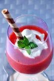 mousse φράουλα στοκ φωτογραφίες