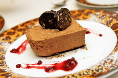 mousse итальянки шоколада Стоковое фото RF