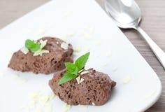 mousse шоколада Стоковые Изображения RF