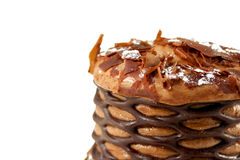 mousse шоколада 2 стоковые изображения