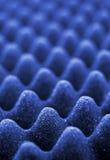 Mousse acoustique bleue Image libre de droits