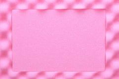 Mousse acoustique, matériau d'emballage sûr Image stock