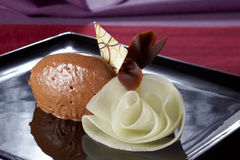 Mousse au chocolat Royalty Free Stock Photo