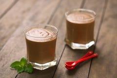 Mousse Au Chocolat Στοκ Φωτογραφίες