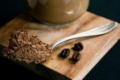 Mousse au Chocolat. Creamy Espresso Mousse au Chocolat Royalty Free Stock Photo
