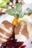 Mousse au chocolat Stock Photo
