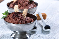 Mousse au chocolat Royalty Free Stock Photography
