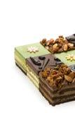Mousse cake. Some mousse cakes on white background Royalty Free Stock Image