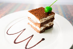 Mousse Cake Stock Photography