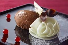 mousse chocolat au Стоковое фото RF