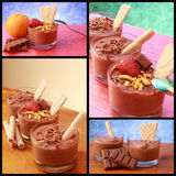 Mousse of chocolate royalty free stock images