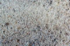 Mousse d'arc-en-ciel sur la mer Photos libres de droits