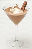 Mousse de chocolat Photographie stock libre de droits