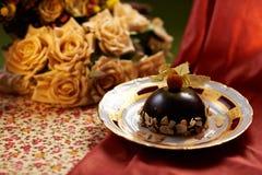 Mousse de chocolat Image libre de droits