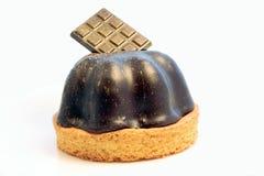 Mousse de chocolat d'isolement Photos libres de droits