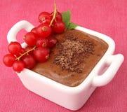 Mousse de chocolate imagem de stock royalty free