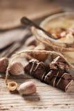 Mousse de chocolate Foto de archivo libre de regalías