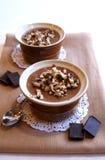 Mousse de chocolate francês Fotos de Stock