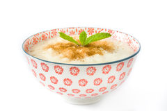 Mousse de riz Photo d'isolement image stock