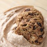 Mousse del biscotto di pepita di cioccolato Fotografia Stock Libera da Diritti
