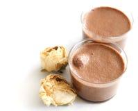 Mousse di Chocolat Fotografia Stock