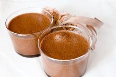 Mousse di Chocolat Fotografia Stock Libera da Diritti