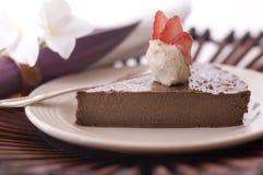 Mousse di cioccolato Immagine Stock Libera da Diritti