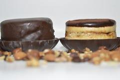 Mousse Tiramisu και σοκολάτας Στοκ φωτογραφία με δικαίωμα ελεύθερης χρήσης