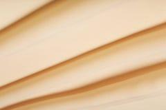 Mousseline de soie crème Photo stock