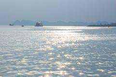 Moussera på havet Royaltyfri Fotografi