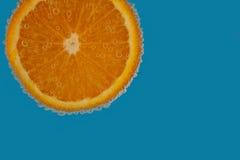 Mousserande apelsin Royaltyfria Bilder