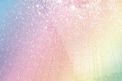 Mousserande kristall dekorerad bakgrund Arkivfoton