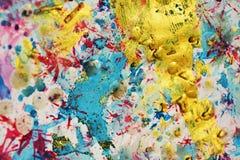 Mousserande pastellfärgade vaxartade fläckbakgrunds- och borsteslaglängder, toner, fläckar royaltyfria foton