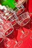 Mousserande vin Fotografering för Bildbyråer