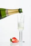 Mousserende wijn Royalty-vrije Stock Foto