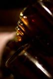 Mousserende wijn op rek 3 Stock Afbeelding